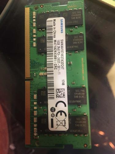Imagem 1 de 1 de Kit Com 5 Memória Ddr4 16gb Samsung Para Notebook