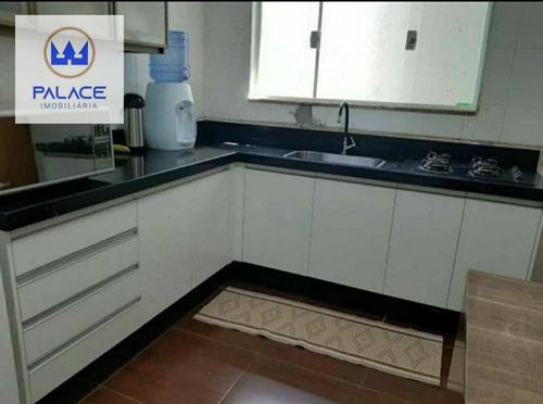 Casa Com 2 Dormitórios À Venda, 100 M² Por R$ 280.000,00 - Santa Terezinha - Piracicaba/sp - Ca0920