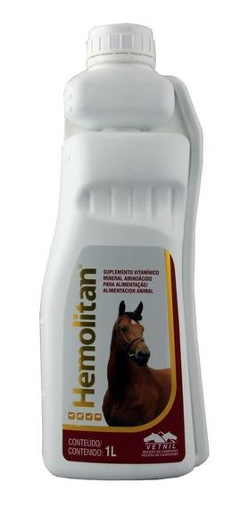 Hemolitan 1 Litro - Suplemento Equinos - Vetnil