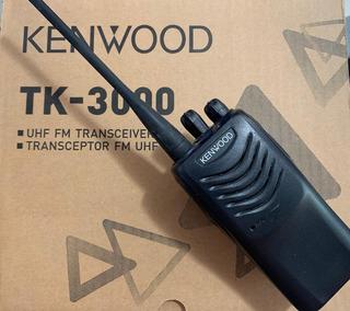 Un Par De Tk-3000 Radio Portátil Profesional Uhf