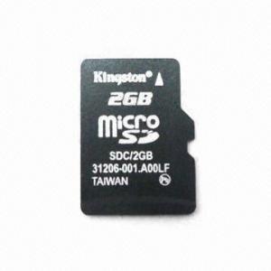 Cartão Memória Kingston 2gb Micro Sd + Adaptador Hp Original