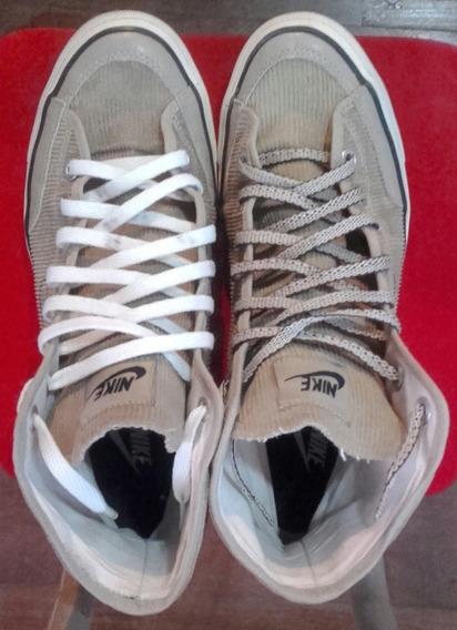 Zapatillas Nike Marrones Corderoy Go Mid Canvas