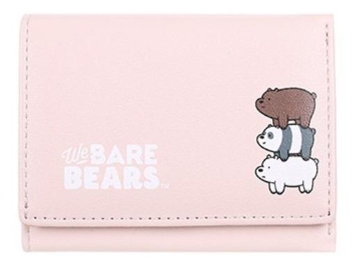 Carteira Ursos Sem Curso Miniso - Cor Rosa