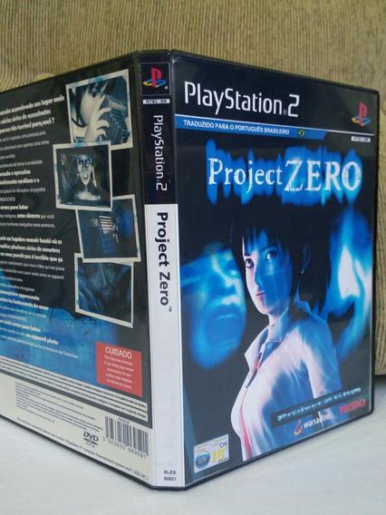 Ps2 Fatal Frame Projecto Zero Legendado Para Playstation 2