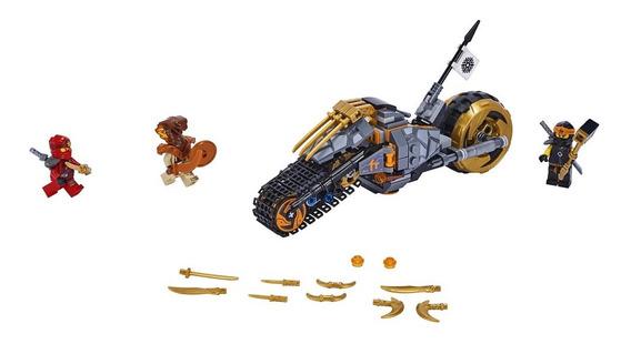 Lego Ninjago - Bicicleta Do Cole