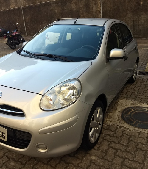 Nissan March, 5 Portas, 1.6 Sv, Única Dona, Modelo 2013.