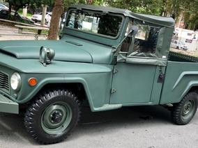 Ford Rural Willys Motor 6 Cilindros Original F85 Restaurado!
