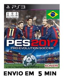 Pes 17 Pes 2017 Ps3 Pro Evolution Soccer Psn Envio Agora