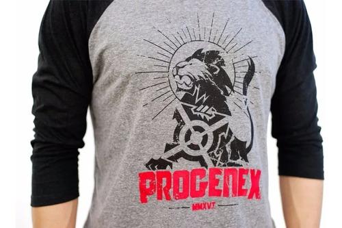 Remera Progenex Unisex Lionheart Edition ( U S A ) Crossfit