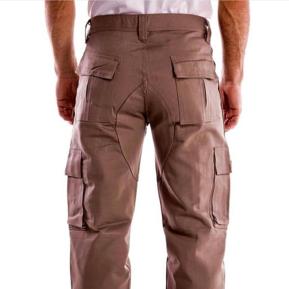 Pantalon Cargo Completo Pampero Original!! Talle 38 Al 54
