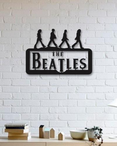 Quadro Decorativo Parede Música The Beatles 90cm