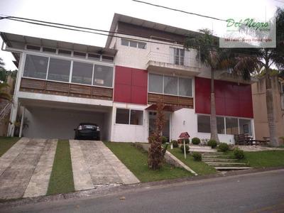 Casa Com 4 Dormitórios À Venda, 360 M² - Golf Village, Granja Viana. - Ca1604