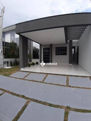 Casa À Venda, 112 M² Por R$ 650.000,00 - Condomínio Park Real - Indaiatuba/sp - Ca2408