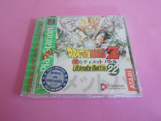 Dragon Ball Z Ultimate Battle 22 Original Lacrado Ps1 Psx