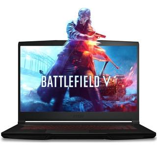 Laptop Gamer Msi Gf63 I5 8300h 8gb 1tb Gtx 1050ti 4gb 15.6