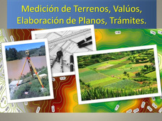 Servicio Profesional De Levantamientos Topográficos.