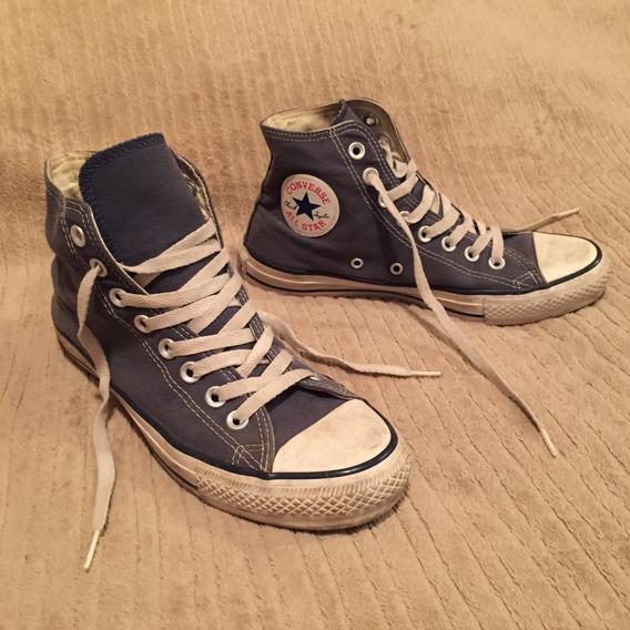 Zapatillas Converse Chuck Taylor All Star Azul Talle 38 25cm
