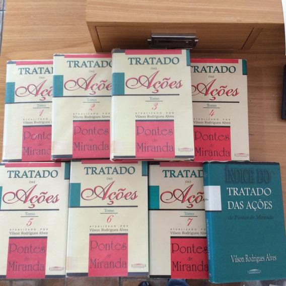 Tratado Das Ações Coleção Com 7 Volumes + Índice