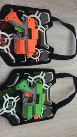 Pistolas Nerf E Colete Nerf!