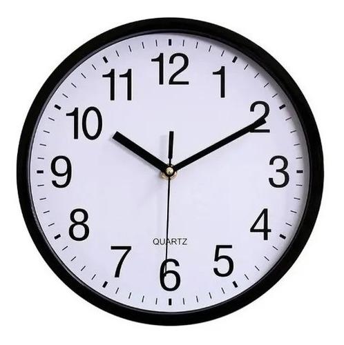 Imagen 1 de 3 de Reloj De Pared  Minimalista Grande Clásico - Gorsh Envio