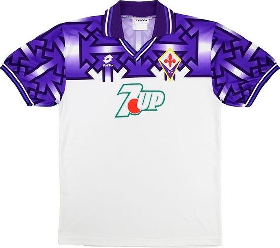 Fiorentina 92/93 Retro - Numeração Jogador Ou Sem Numeração
