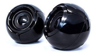 Bocinas Usb Computadora Vorago Pc 2.0 Aux 3.5mm Audio Esfera