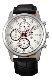 Reloj Orient Cronógrafo Calendario 50m Agente Of. Liniers