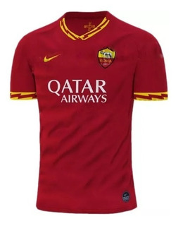 Camisa Roma Vermelha Unif 1 Home 19/20 Promoção