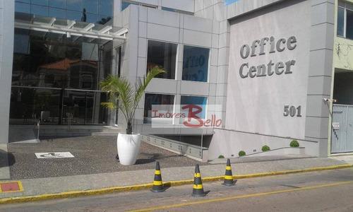 Imagem 1 de 9 de Sala Para Alugar, 50 M² Por R$ 1.200/mês - Office Center - Itatiba/sp - Sa0081