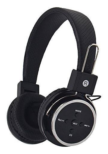 Fone De Ouvido Sem Fio Bluetooth E Sd Mex B05 Preto