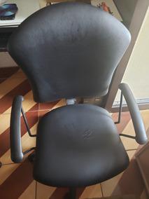 Cadeira Escritorio Preta Giratoria Reclinável