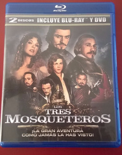 Los Tres Mosqueteros - Bluray + Dvd - The Three Musketeers