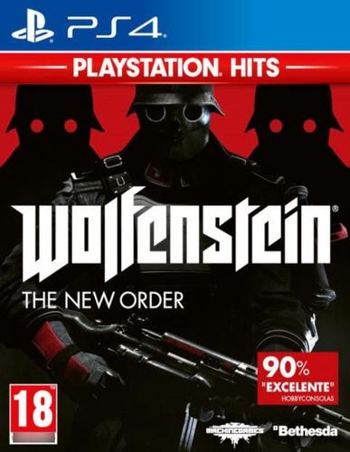 Imagen 1 de 1 de Wolfenstein The New Order - Ps4 Fisico Nuevo & Sellado
