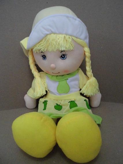 Muñeca De Trapo Suave Grande Niña 95 Cm Juguete Bebe 8verde