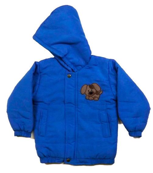 Jaqueta Infantil Matelada C/ Capuz 1 A 12 Anos Inverno