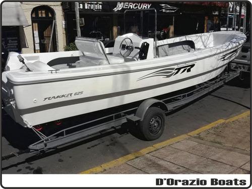 Lancha Tracker Trakker 625 Pescador + Mercury 90 Hp 4t Efi