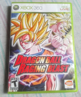 Dragon Ball Raging Blast (xbox 360)