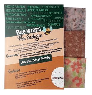Film Ecológico Bee Wraps Telas Enceradas