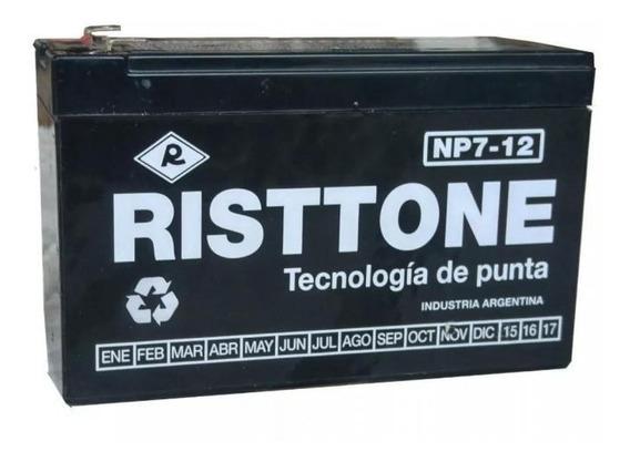 Batería De Gel 12v 7a 7ah Amper Para Sistema De Alarma Led