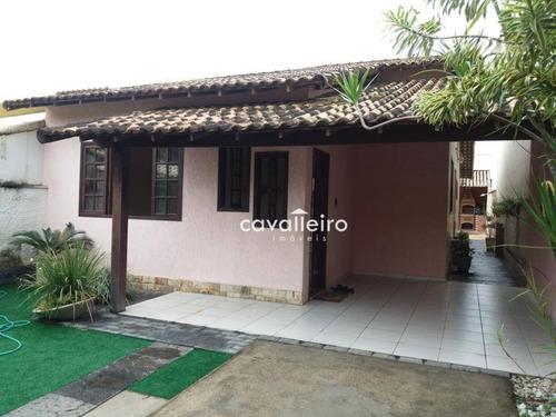 Casa Com 3 Dormitórios À Venda, 106 M² - Centro - Maricá/rj - Ca3398