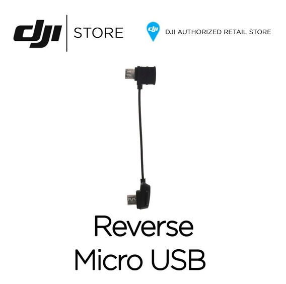 Dji Cable Micro Usb Reverso Para Mavic Pro Air Dji Store