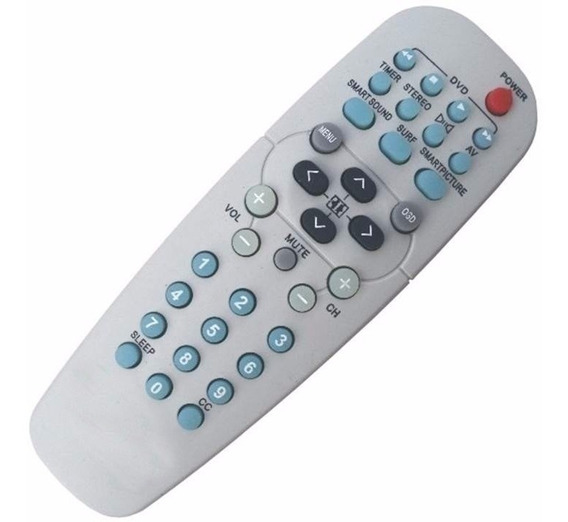 Lot 10 Controle Remoto Universal Philips Tv Tubo