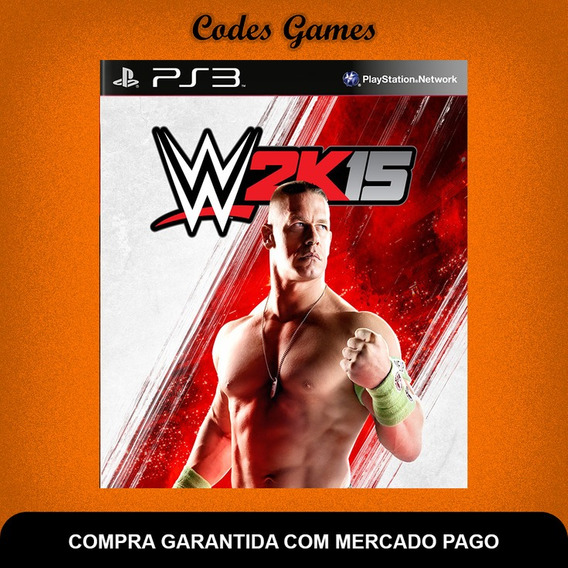 Wwe 2k15 - Ps3 - Pronta Entrega