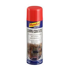 Limpa Contato Spray Eletronico 12 Un 300ml Mundial Prime