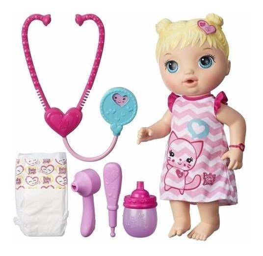 Boneca Baby Alive Cuida De Mim Loira Original C/ Nota Fiscal