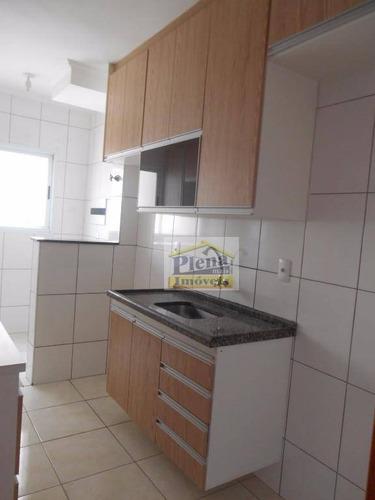 Imagem 1 de 11 de Apartamento Residencial À Venda - Jardim Marajoara, Nova Odessa. - Ap0612