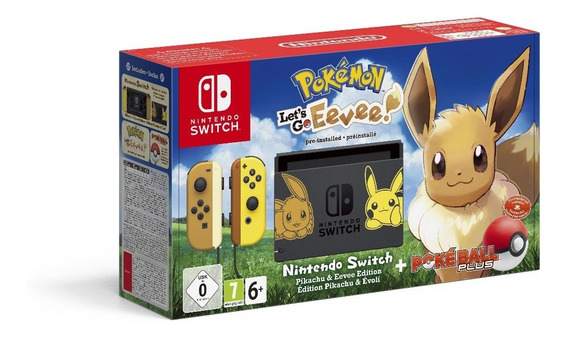 Consola Nintendo Switch Edicion Pokemon Pikachu Pokeball /u