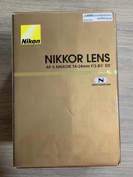 Objetiva Nikon 14-24mm 2.8