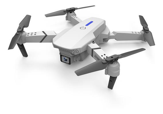 Ls-e525 Rc Drone Wifi Dobrável Quadcopter 4k Branco