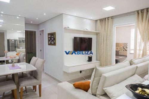 Imagem 1 de 27 de Apartamento Com 2 Dormitórios À Venda, 53 M² Por R$ 320.000,00 - Jardim Imperador - Guarulhos/sp - Ap3860